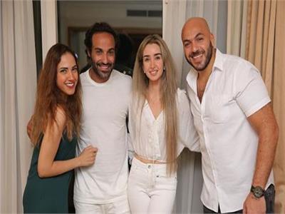 أحمد فهمي وهنا زاهد وعمر طلعت زكريا وشقيقته