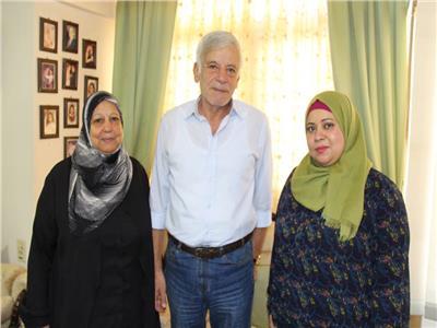 عائلة الكاتب الكبير أحمد رجب