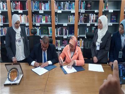 تجديد بروتوكول التعاون للامتياز لكلية التمريض جامعة المنصورة مع مستشفي 57357