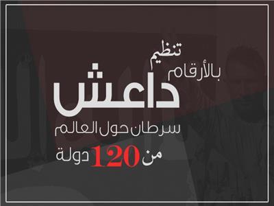 إنفوجراف | بالأرقام تنظيم داعش سرطان حول العالم من 120 دولة