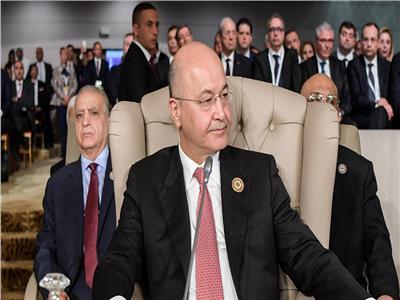 رئيس الجمهورية العراقي الدكتور برهم صالح
