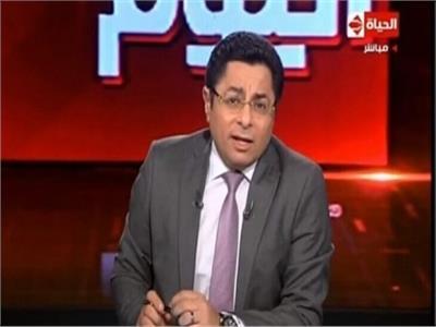 """الإعلامي خالد أبو بكر، على """"قناة الحياة"""""""
