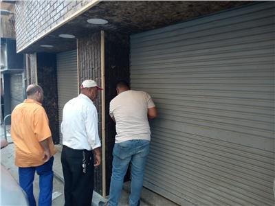 رئيس حي باب الشعرية يقود حملة مكبرة لغلق الزاهي التي تبيع الشيش غير مرخصة