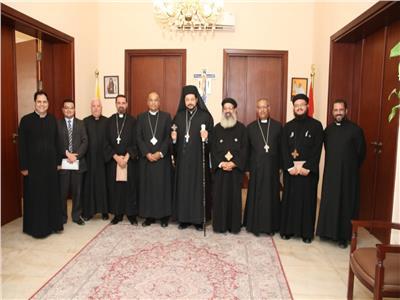 لجنة الرعاة بمجلس كنائس مصر تهنئ الأنبا باخوم علي سيامته الأسقفية