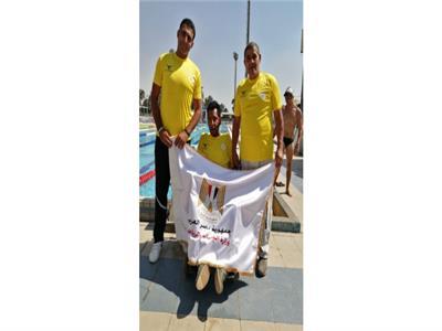 فريق وزارة الشباب والرياضة يحصل على بطولة الجمهورية رقم 52 لفريق السباحة لمتحدي الإعاقة