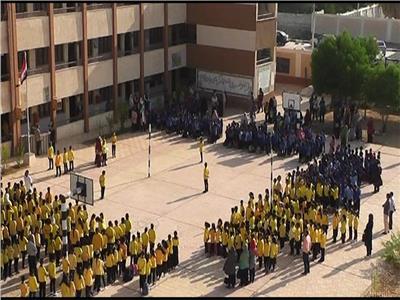 بوابة اخبار اليوم انتظام 67 الف طالب بالدراسه بالوادي الجديد