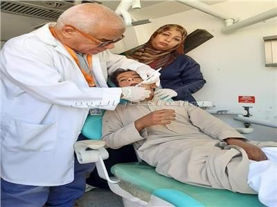 قوافل طبية مجانية الي أودية  مجيرح ١ بدهب وخريزة بشرم الشيخ