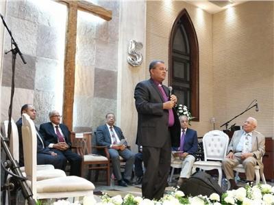 الدكتور القس أندريه زكي، رئيس الطائفة الإنجيلية بمصر