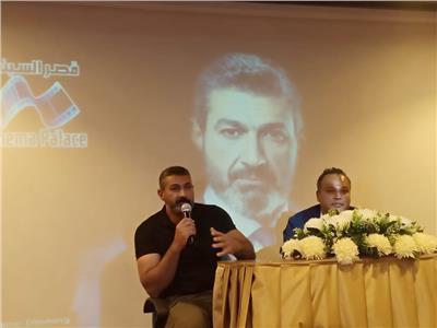 """ياسر جلال في ندوة """"مسلسل الفتوة"""""""