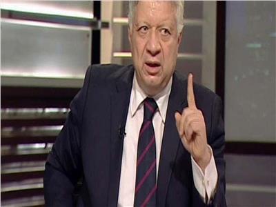 رئيس الزمالك مرتضي منصور