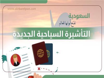 إنفوجراف| السعودية تفتح أبوابها للعالم بالتأشيرة الإلكترونية