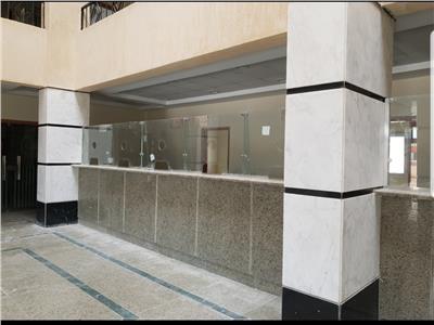 تسليم مبنى للشهر العقاري بالحي الثاني بمدينة الفيوم الجديدة