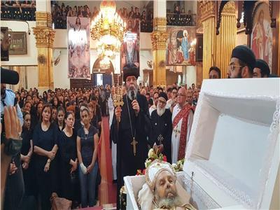وفاة القمص مينا القمص سمعان