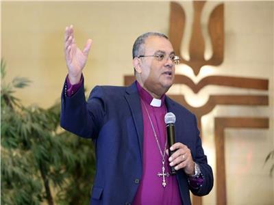 القس أندريه زكي رئيس الطائفة الإنجيلية بمصر