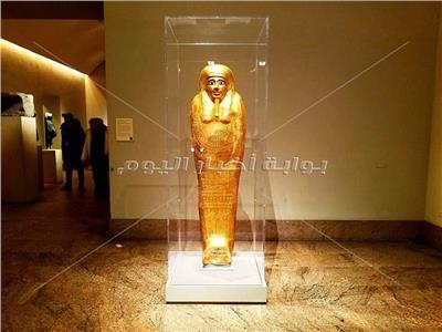 """مصر تستعيد التابوت لكاهن المصري «نجم عنخ"""" في أمريكا"""