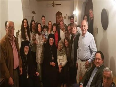 البطريرك يوسف العبسي يختتم زيارته الرعوية إلي الأرجنتين