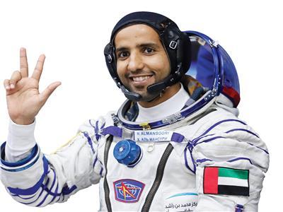 هزاع المنصورى - رائد فضاء اماراتي