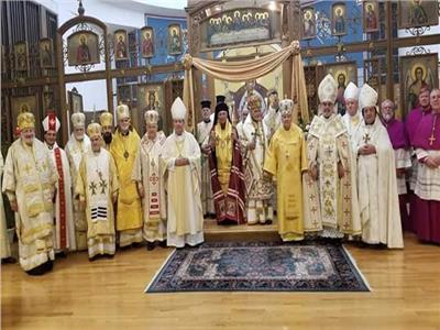 بطريرك الروم الكاثوليك يشارك في قداس اليوبيل