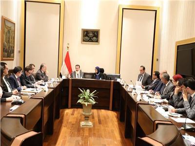 وزيرة الصحة والسكان د.هالة زايد خلال  الاجتماع