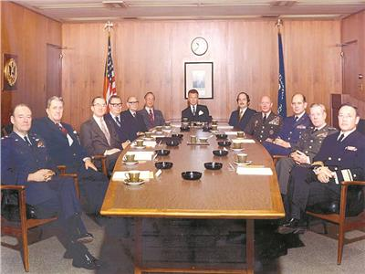 مجلس الاستخبارات الأمريكي قبل وأثناء حرب أكتوبر
