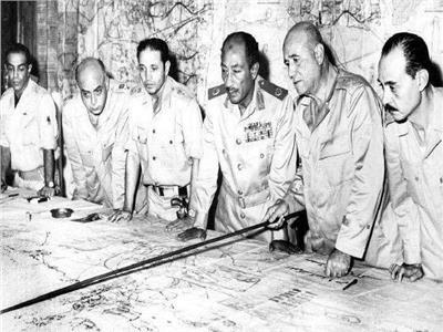 غرفة عمليات حرب اكتوبر