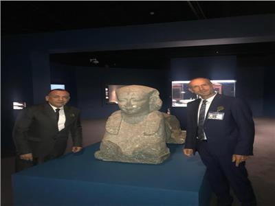 معرض الآثار الغارقة بمدينة لوس انجلوس