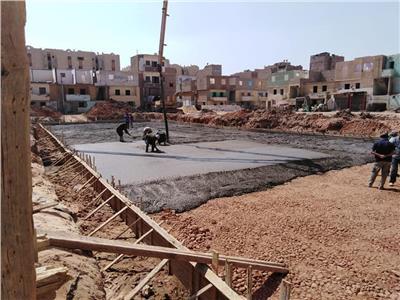 مشروع تطوير منطقة العمال بمدينة المنيا
