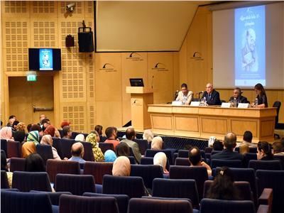 مكتبة الإسكندرية تحتفي بمرور 120 عامًا على ميلاد «صاروخان» - تصوير: هشام المصري