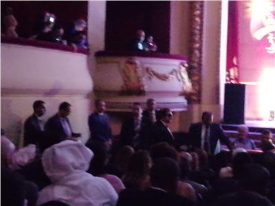 محي إسماعيل يتشاجر بافتتاح مهرجان الإسكندرية