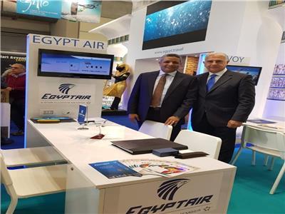مشاركة متميزة لمصر للطيران في معرض TTG بريميني بإيطاليا