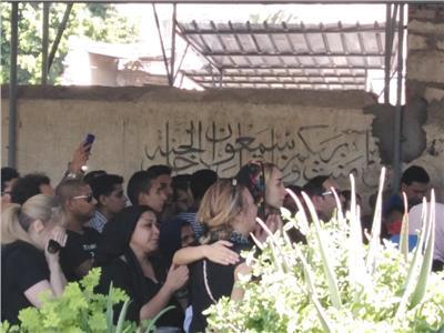 جنازة الفنان طلعت زكريا   تصوير- هشام المصري