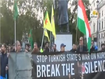 احتجاجات بأوروبا للتنديد بالعدوان التركي على سوريا