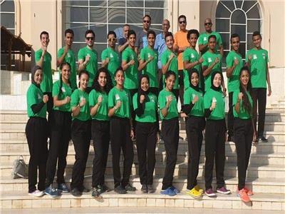 بعثة منتخب مصر لبطولة العالم الشاطئية للتايكوندو
