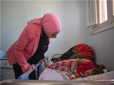 نائبة محافظ البحر الأحمر تتفقد مستشفى حميات الغردقة في زيارة مفاجئة