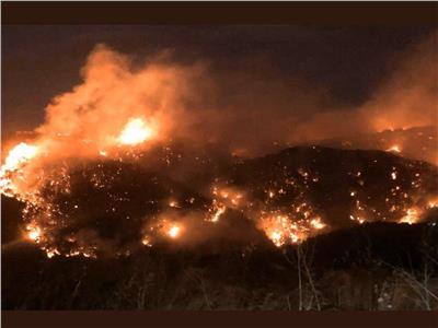 صورة من حريق لبنان