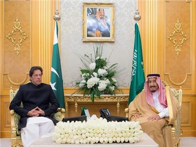 الملك سلمان بن عبد العزيز وعمران خان