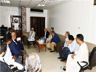 جانب من لقاء وزيرة الصحة بنواب محافظة الأقصر