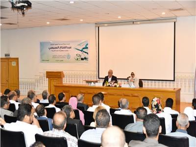 اجتماع وزيرة الصحة مع أطباء الأقصر