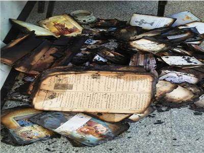 حادث حريق كنيسة المنصورة