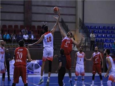 فريقا كرة السلة بناديي الأهلي والزمالك