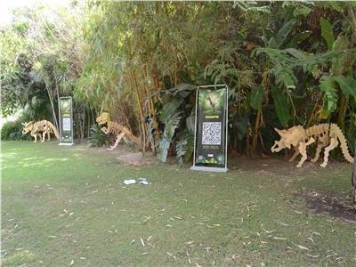 عالم الديناصورات في متحف الطفل
