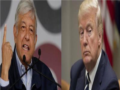 دونالد ترامب وأندريس مانويل لوبيز أوبرادور