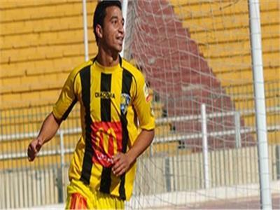 محمد سالم مهاجم نادي المقاولون العرب