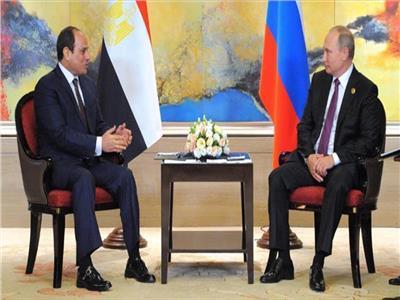 الرئيس بوتين -  الرئيس عبد الفتاح السيسي