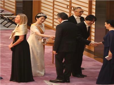 وزير الأثار يشارك في حفل تنصيب إمبراطور اليابان