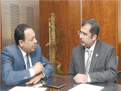 أحمد محمد المناعى الرئيس التنفيذى لمركز الإتصال الوطنى البحرينى