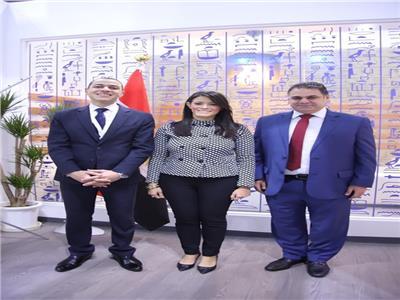 وزيرة السياحة تفتتح الجناح المصري المشارك في معرض اليابان