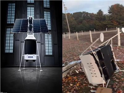 سقوط قمر سامسونج الصناعي Space Selfie