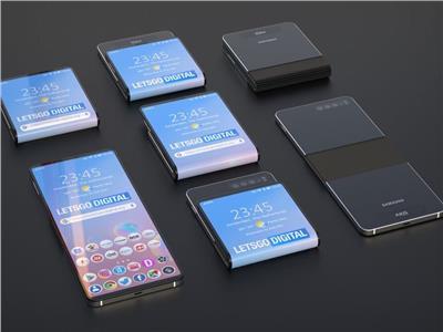 هاتف جديد قابل للطي بشكل «مربع»