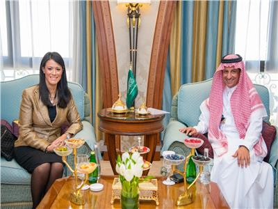 وزيرة السياحة  تلتقي رئيس الهيئة العامة للسياحة بالسعودية